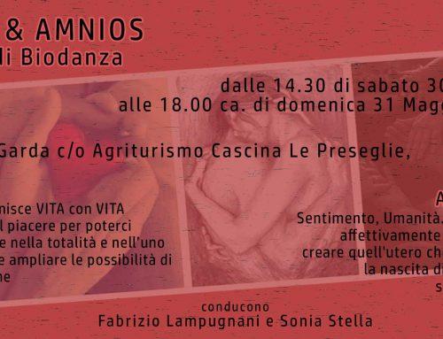 30/31 Maggio – EROS & AMNIOS – stage di Biodanza a Desenzano, lago di Garda
